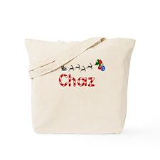Chaz, Christmas Tote Bag
