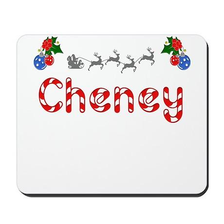Cheney, Christmas Mousepad
