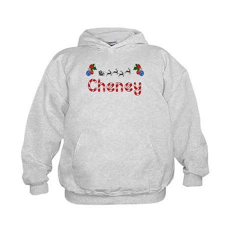 Cheney, Christmas Kids Hoodie
