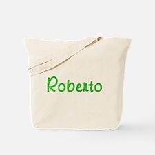 Roberto Glitter Gel Tote Bag
