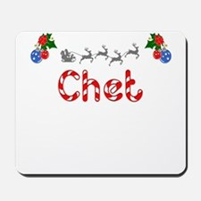 Chet, Christmas Mousepad