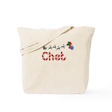 Chet, Christmas Tote Bag