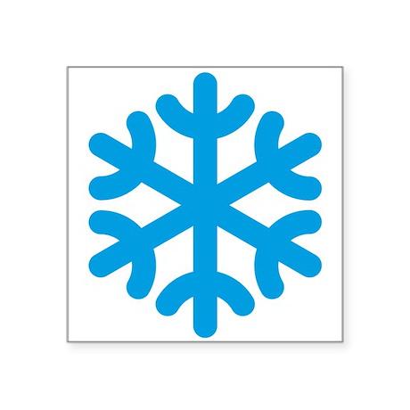 Snowflake / Copo De Nieve / Schneeflocke Square St