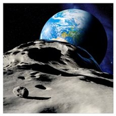 Near-Earth asteroid Poster
