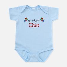 Chin, Christmas Infant Bodysuit