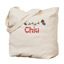Chiu, Christmas Tote Bag