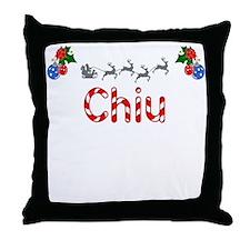 Chiu, Christmas Throw Pillow