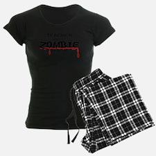 Teacher Zombie Pajamas