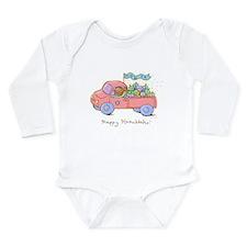 dreidel delivery Long Sleeve Infant Bodysuit