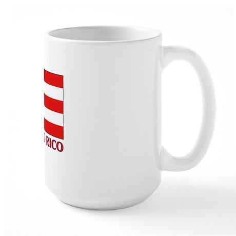 Puerto Rico - PR Large Mug