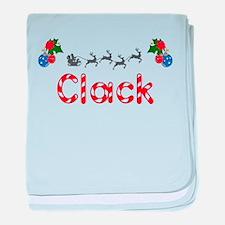 Clack, Christmas baby blanket