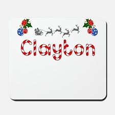 Clayton, Christmas Mousepad