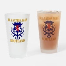 Be a nation again Scotland Drinking Glass