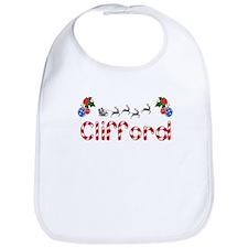 Clifford, Christmas Bib