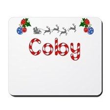 Coby, Christmas Mousepad