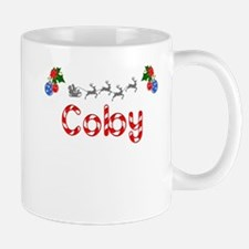 Coby, Christmas Small Small Mug