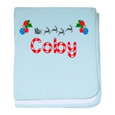 Coby, Christmas baby blanket