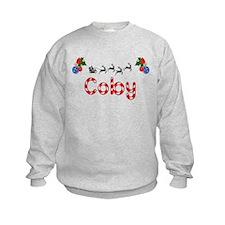 Coby, Christmas Sweatshirt