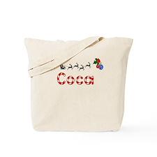 Coca, Christmas Tote Bag