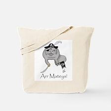 Pirate Manatee Tote Bag