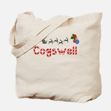 Cogswell, Christmas Tote Bag