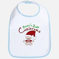 Baby's 2nd Christmas Bib