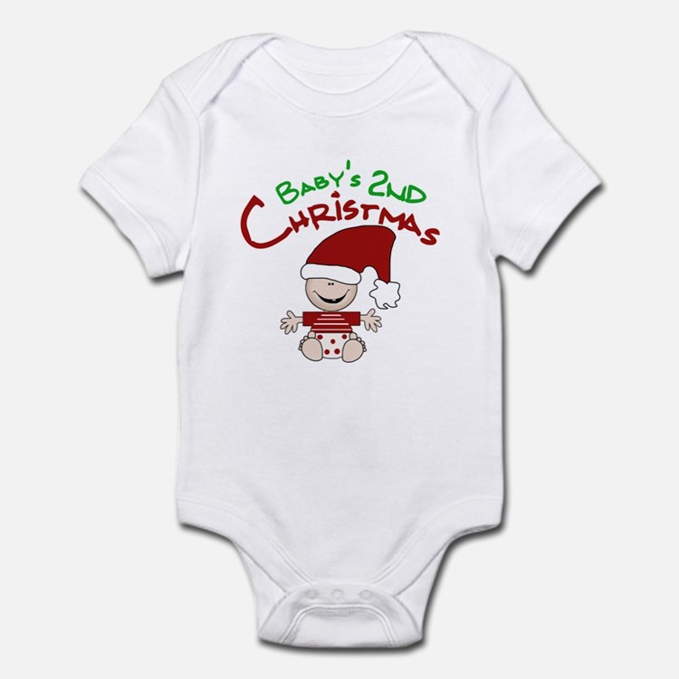 Baby's 2nd Christmas Onesie
