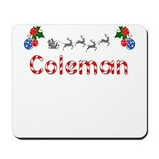 Coleman, Christmas Mousepad