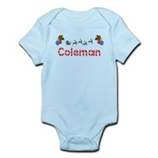 Coleman, Christmas Infant Bodysuit