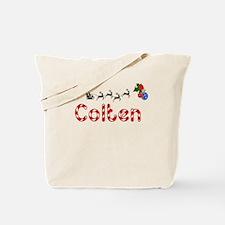 Colten, Christmas Tote Bag