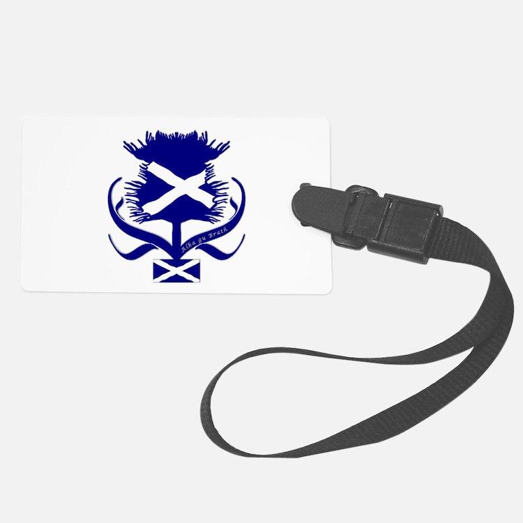 Be a nation again Scotland Luggage Tag