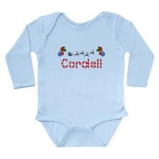 Cordell, Christmas Long Sleeve Infant Bodysuit