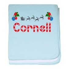 Cornell, Christmas baby blanket