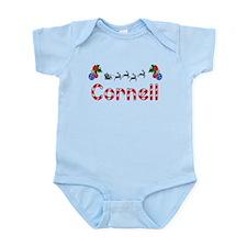 Cornell, Christmas Infant Bodysuit
