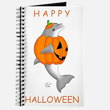 Halloween Dolphin Journal