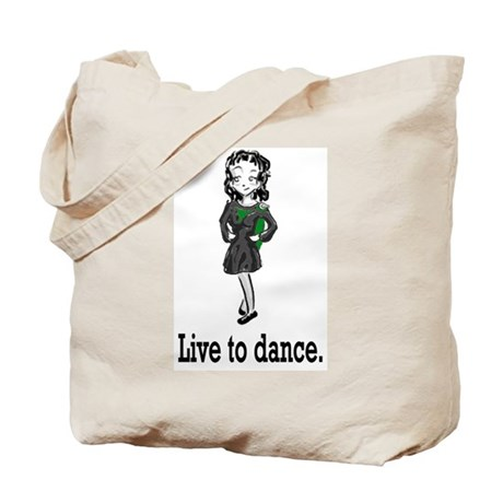 Live to Dance Tote Bag