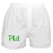 Phil Glitter Gel Boxer Shorts