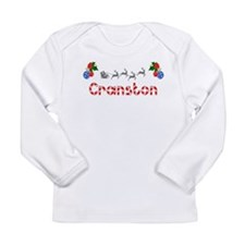 Cranston, Christmas Long Sleeve Infant T-Shirt