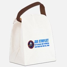 startrek24a.png Canvas Lunch Bag