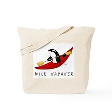 Wild Kayaker Tote Bag