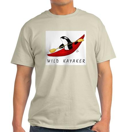 Wild Kayaker Ash Grey T-Shirt
