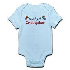Cristopher, Christmas Infant Bodysuit