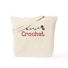 Crochet, Christmas Tote Bag