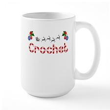 Crochet, Christmas Mug