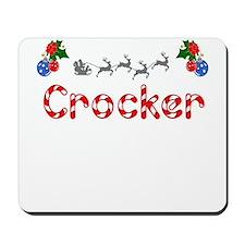 Crocker, Christmas Mousepad