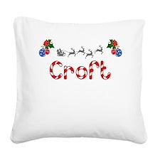 Croft, Christmas Square Canvas Pillow
