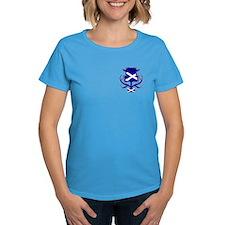 Scottish navy blue thistle Tee