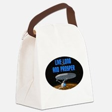 startrek2a.png Canvas Lunch Bag