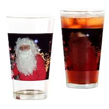 Christmas Santa Claus Drinking Glass