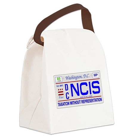 ncis22b.png Canvas Lunch Bag